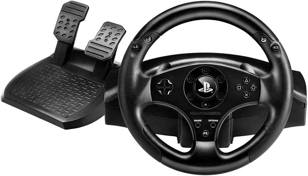 volante thrustmaster t80 racing wheel con pedales