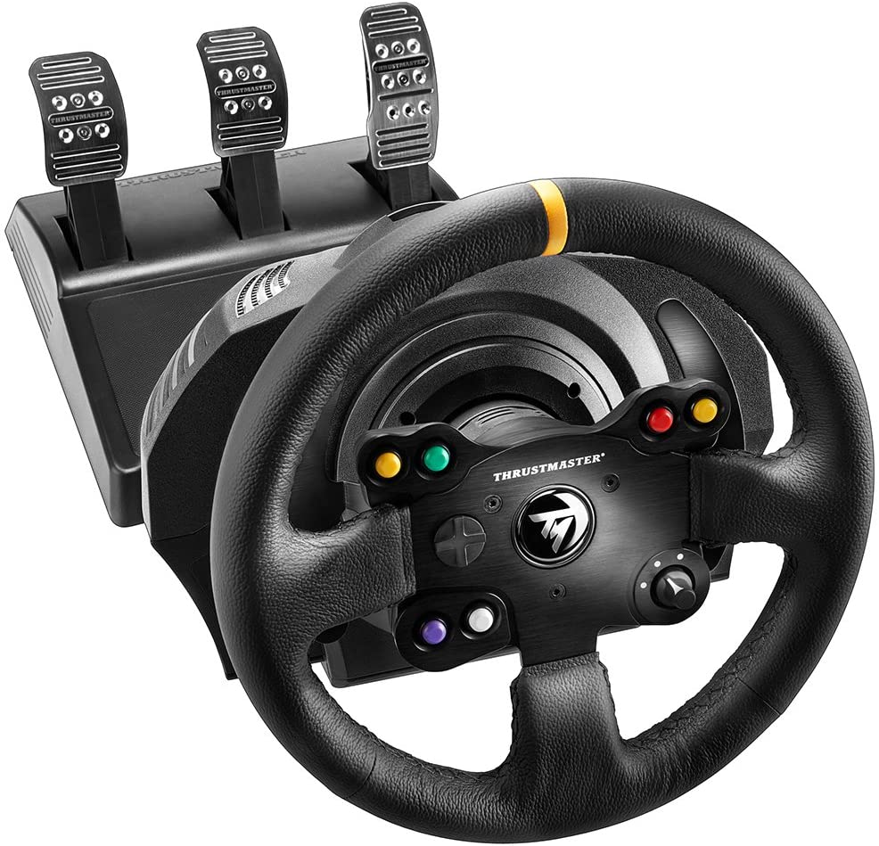 thustmaster tx racing wheel leather edition